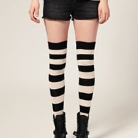 [out of stock] ASOS | ASOS Stripe Over The Knee Socks at ASOS