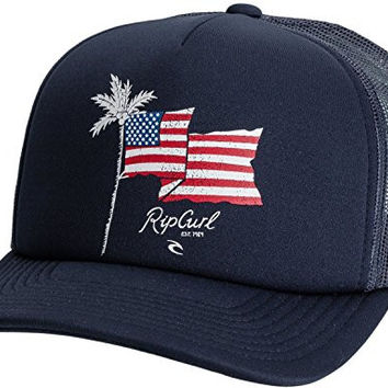 Rip Curl Men's Destination Trucker Hat, Navy, One Size