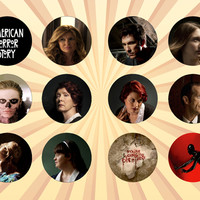 Buttonpalooza - The one-stop-shop for all your pinback button and button magnet needs! : AMERICAN HORROR STORY