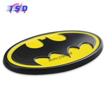 Special Emblem Car Stickers Auto Modified Decals For Bat Logo Badge Decoration For Mazda BMW Subaru Volvo Vespa Volkswagen Dacia