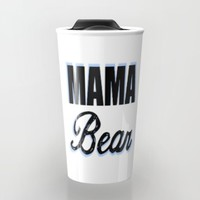 Mama Bear to Baby Boy Travel Mug by Love Lunch Liftoff