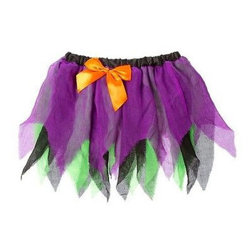 Claire's Halloween WITCH Tutu NWT