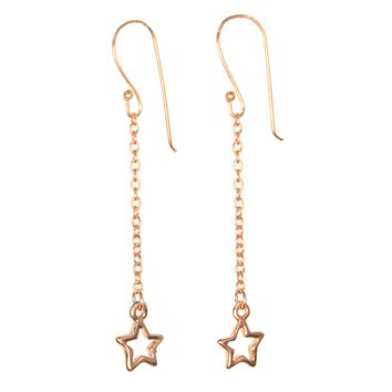 Lucky Star Dangle Earrings