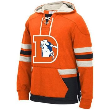 Denver Winter New Designs Broncos Fans Favorite Style Stitching Sweatshirt, Accept Custom Any Name And Number Hoodies Pullover