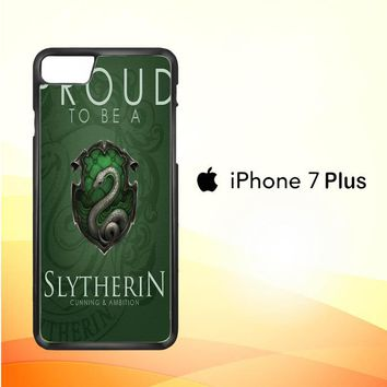 Proud To Be Slytherin F0574 iPhone 7 Plus Case