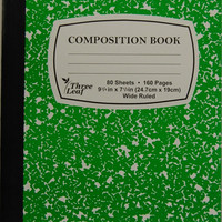 green marble composition notebook Case of 48