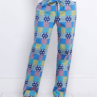 Lounge Pants For Women: Patchwork Lazy Pants – Vineyard Vines
