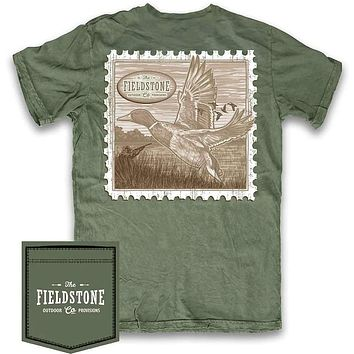 Stamp Tee Shirt by Fieldstone Outdoor Provisions Co.