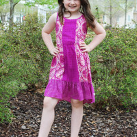 Girls Roxy Big Playa Dress