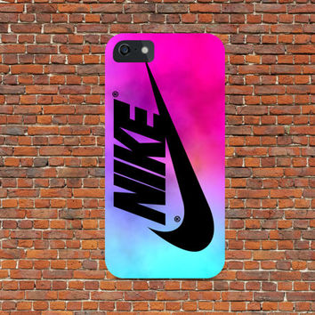 Nike Swoosh Pink Pastel Tie Dye for all phone device