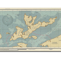 New Penzance Island Map Moonrise Kingdom