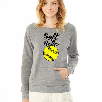 SoftBaller ladies sweatshirt