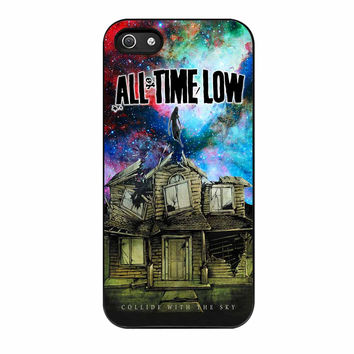 All Time Low Pierce The Veil Galaxy Design iPhone 5s Case