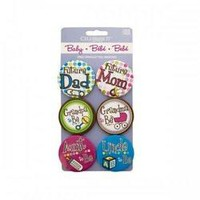 Baby Shower Pins (pack of 24)