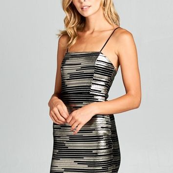 Blurred Lines Bodycon Dress