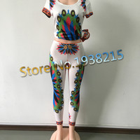 2016 Boho Summer Women Casual Sexy dashiki Dress Women High Slit Dress Robe Longue Femme African Print Maxi Dresses
