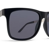 Dot Dash Admiral Sunglasses (Black Silver Satin/Grey) at 7TWENTY Boardshop, Inc