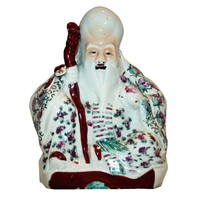 Pre-owned Antique Chinese God of Longevity Figurine