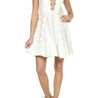 Laces Floral Dress