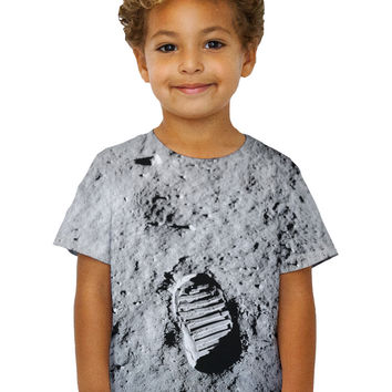 Kids Apollo 11 Boot Print