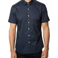 7 Diamonds Regular Fit Positive Mind Sport Shirt