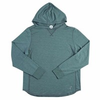 Toes on the Nose Schooner L/S Hoodie Green