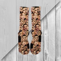 DRAKE FACES CUSTOM NIKE ELITE SOCKS