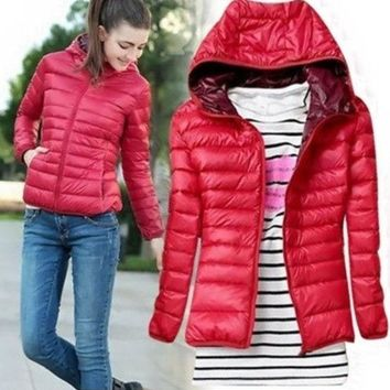 DCCKIX3 winter women's slim short wadded down jacket outerwear Warm jackets Lady Down parkas Coat = 1956211076