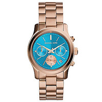 Michael Kors Rose Gold Ladies' Runway Watch - Rose Gold