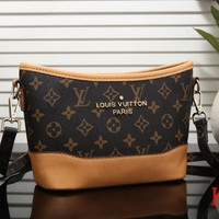 Louis Vuitton LV Newest Fashionable Women Shopping Bag Monogram Leather Shoulder Bag Crossbody Satchel 2#