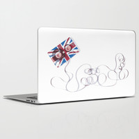UK Tape Laptop & iPad Skin by Matt Irving