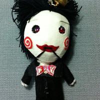 Jigsaw Saw Voodoo String Dolls Funny Keyring Keychain Key Ring Key Chain Bag Car