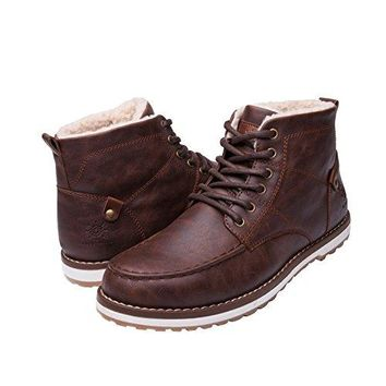 GLOBALWIN Mens Classic Winter Water Resistnat Chukka Boot