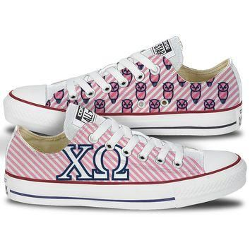 Chi Omega Converse All Star Low Top