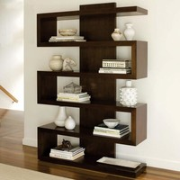 Brownstone Furniture Harrison Walnut Bookcase