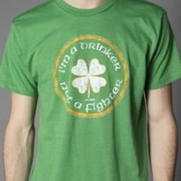 UrbanOutfitters.com > Solid Threads Drinker Not A Fighter Tee