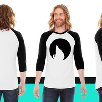 Emo Hair American Apparel Unisex 3/4 Sleeve T-Shirt