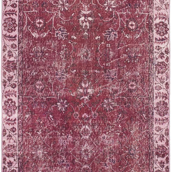 "3'7"" x 6'5"" Turkish Overdyed Rug"