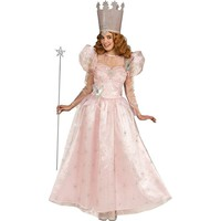 Wizard Of Oz Deluxe Glinda the Good Witch Costume - Adult (Blue)