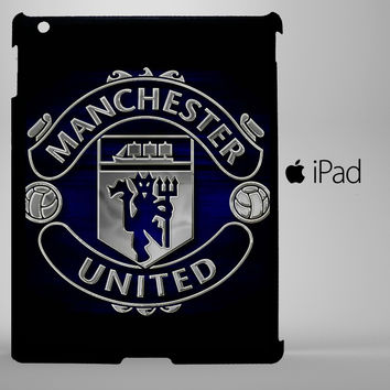Manchester United Logo iPad 2, iPad 3, iPad 4, iPad Mini and iPad Air Cases - iPad