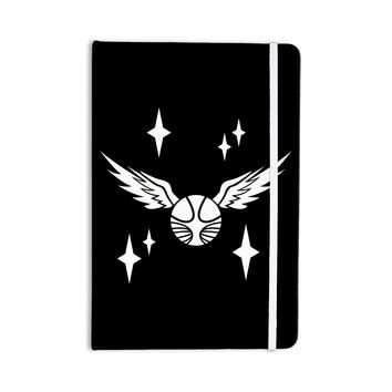 "Jackie Rose ""Golden Snitch"" Black Fantasy Everything Notebook"
