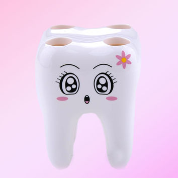 Kawaii Toothbrush Holder