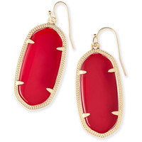 Kendra Scott: Elle Earrings In Bright Red