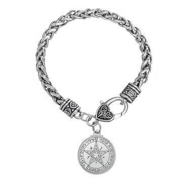 Unique Talisman for Love Tetragrammaton Seal of Solomon Wicca Pentacle Pendant Wiccan Bracelet