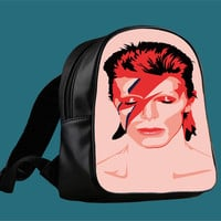 Ziggy Stardust David Bowie for Backpack / Custom Bag / School Bag / Children Bag / Custom School Bag *