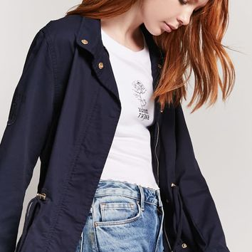 Button-Front Jacket