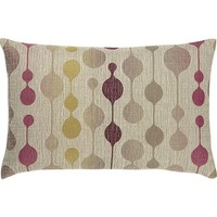 "Quincy 20""x13"" Berry Pillow in Decorative Pillows 