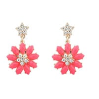 Sweets Lovely Floral Earrings [4920477252]