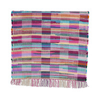 Ebbe Swedish multicolour cotton rag rug