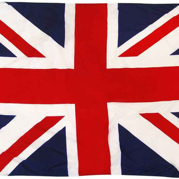 Union Jack British Flag Poster 11x17